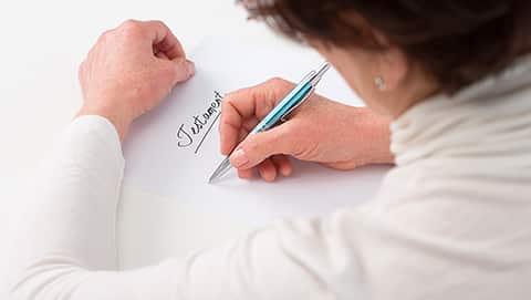 Rédiger un testament dans le cadre d'un PACS